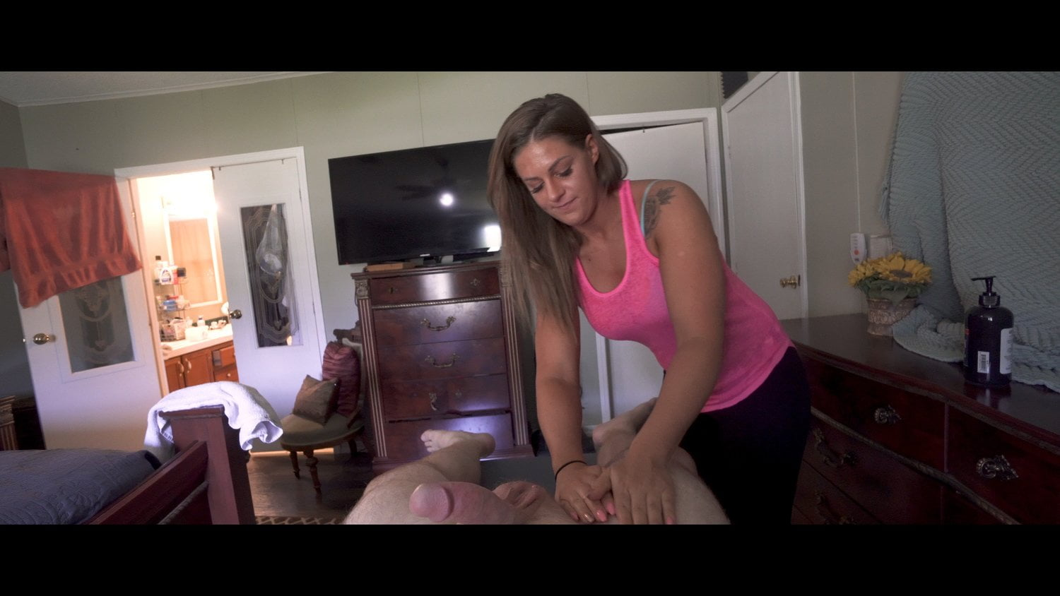 My Brothers Wife Massage