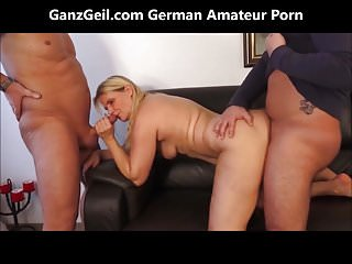 GanzGeil.com 2 cocks sharing a wife