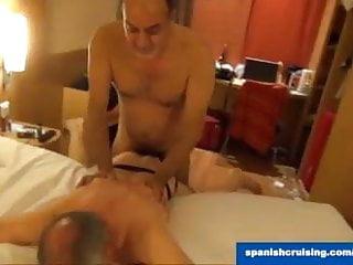 Spanish daddies fucking...