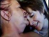 Lesbian frech granny outdoor