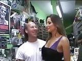 Hot wife sex shop gangbang
