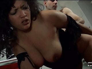 Chubby n busty french ass pounded and creamed...