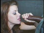 Bobbi Bliss eating black dick
