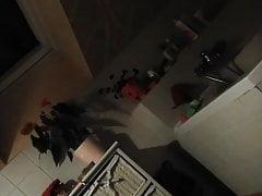 My Gf's In Bathroom Covert Cam