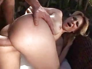 outside anal with sexy blonde