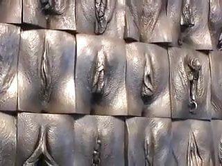 The great wall of vagina exhibition...