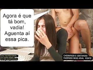 Cuckold Voyeur Big Tits video: ANAL FROM BRAZIL. PAIN, CRY.