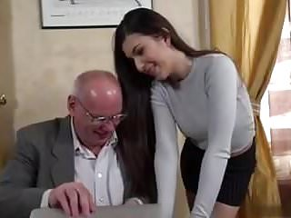 Secretary old boss man...