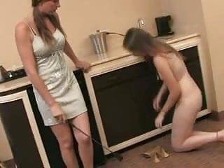 Lesbian foot worship...