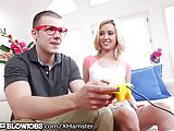OnlyTeenBlowjobs Gamer Teen Throats Geeky Friend
