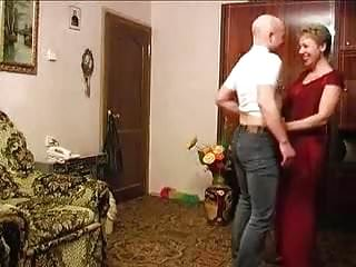 Older woman with younger man...