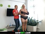 Big boobs blonde sex therapy