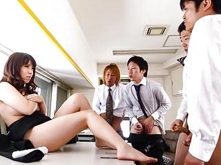 Chinatsu Kurusu Gorgeous Office Gro - More At 69avscom