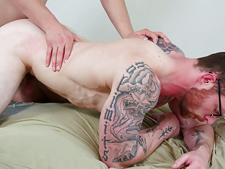 Needy Gay Couple Fucking at all the empty rooms