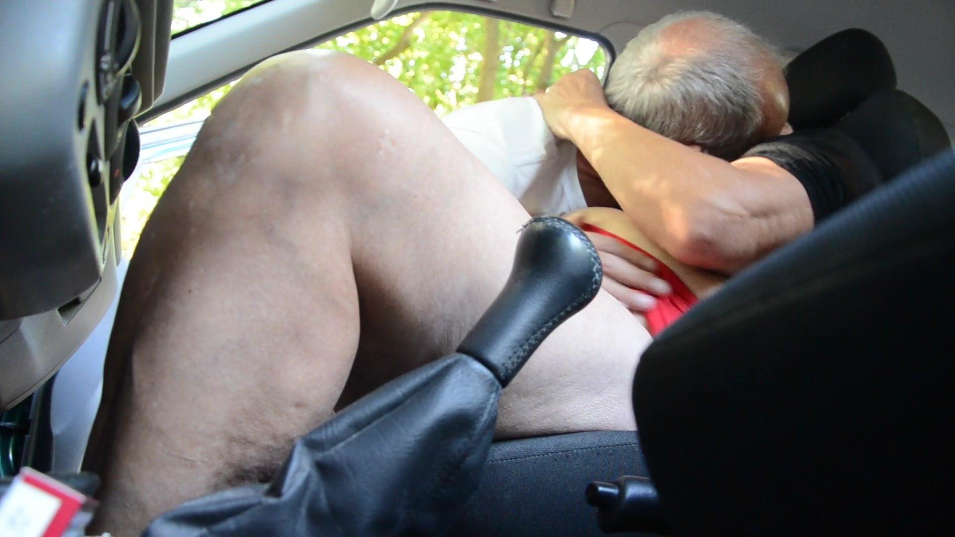 Female Public Car Masturbation