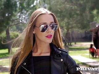 Dp'd Babe Anna Polina Gets 2 Loads Of Warm Cum