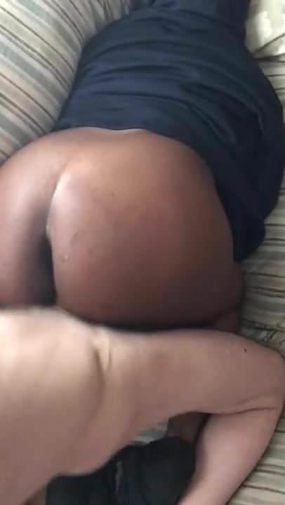 Ebony Pussy Teasing Dick