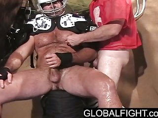 Bisexual Football Coach Buddy Handjob