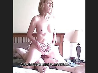 Ride to Orgasm, Amateur Finnish Granny