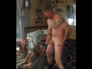 I fucked my ex in front of girl