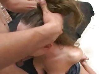 Julie Robbins very rough throatfuck
