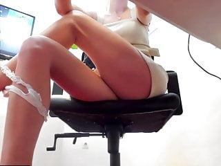 Sexy office upskirt...