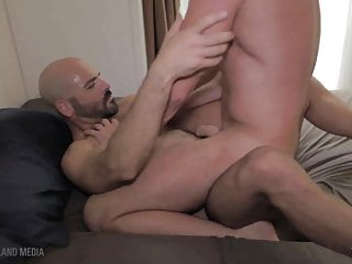 Muscle daddys hole plundered and plowed...