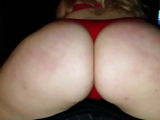 Pawg grinding her fat ass before sex...