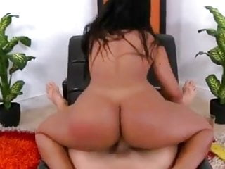 Round tanned ass...