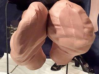 Ff nylon stocking feet...