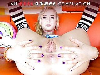 EvilAngel - Wild Gaping & Ass Fucking Compilation