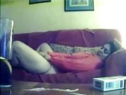 Hidden cam caught my mum having fun