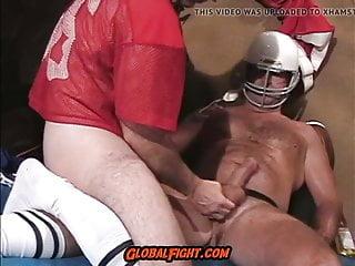 American Football coach muscle bear