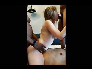 A White Bulls Black Gangbang Slut