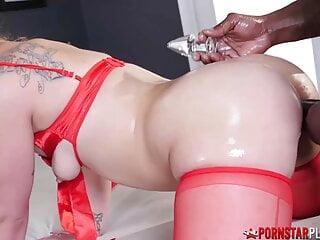 PORNSTARPLATINUM – Adorable Fallon West's Pussy And Ass Banged