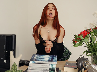 Jerk Off Instructions ROLEPLAY – The Book Seller.