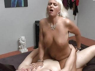 In need of sex Milf smashes virgin Boy