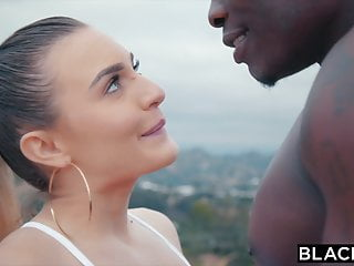 BLACKED Tight model doesnt have time for anything but BBC