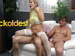 Father and Stepson Are Cuckolding Mommy Dearest