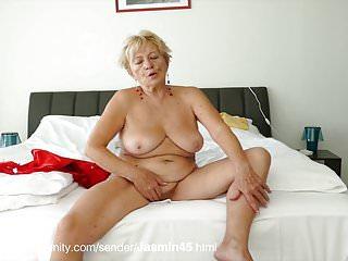 Nackte deutsche oma