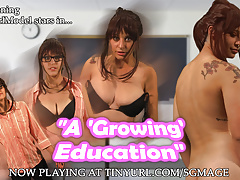 Sugargirlmodel in A Growing Education - Trailer