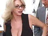 Office milf in glasses makes great sex partner