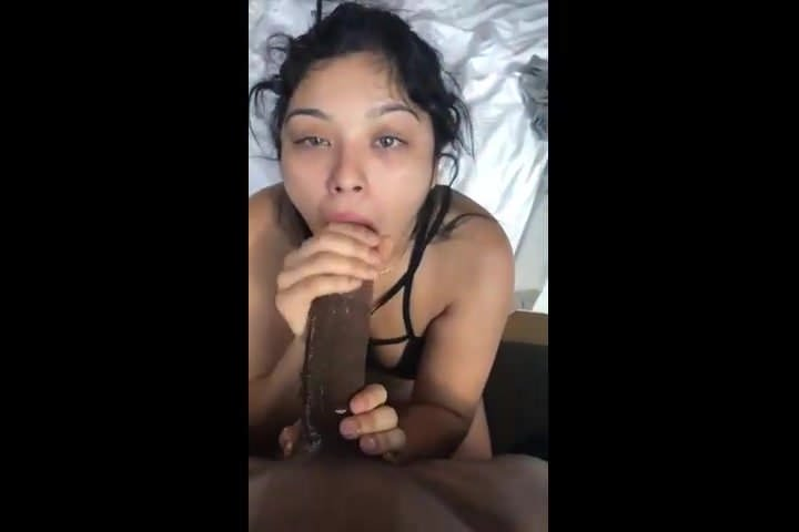 Amateur Girlfriend Tries Bbc