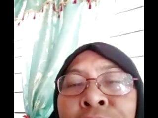 Me with 58yr hijab malay fb video call dick flashing