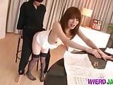Office fuck with a dirty chick