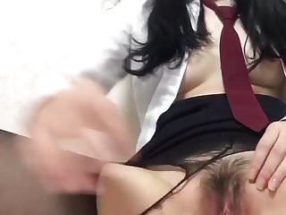 Korean whore masturbation