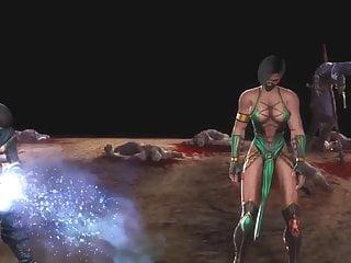 MK9 Jade vs Sub-zero Ryona in Freecam (7)