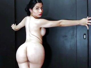 Wife big butt nude