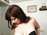 Sensitive big nipples on an American MILF