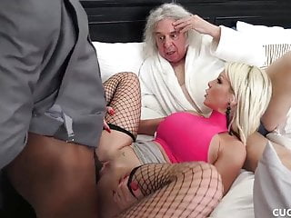 Big Tit Blonde Wants A Deep Pussy Drilling By A BBC
